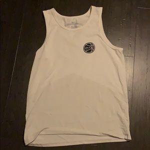 White nike shirt